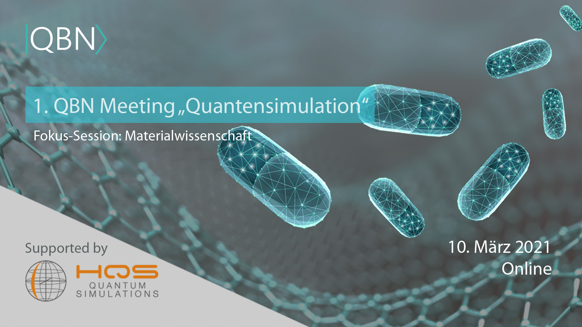 "QBN Meeting ""Quantensimulation"""