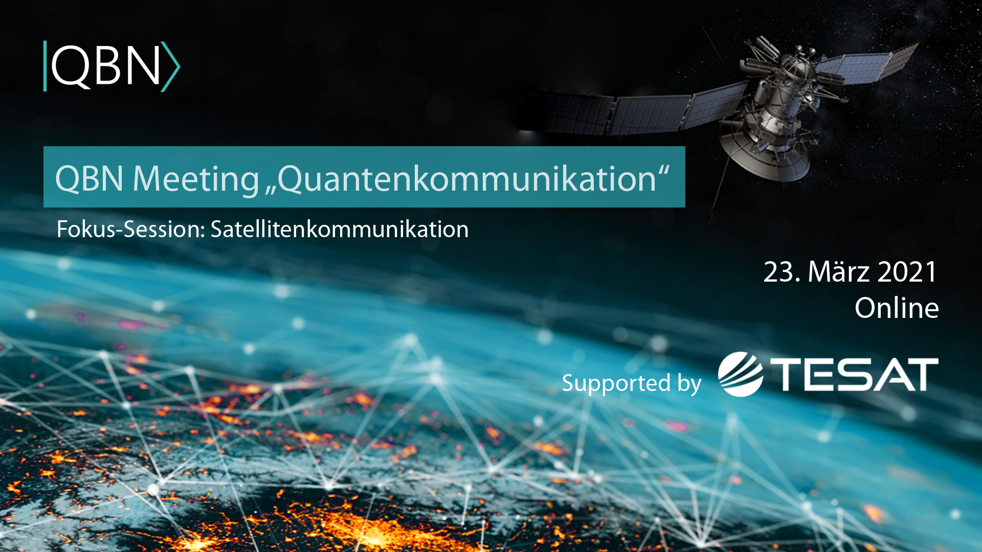 "QBN Meeting ""Quantenkommunikation"""