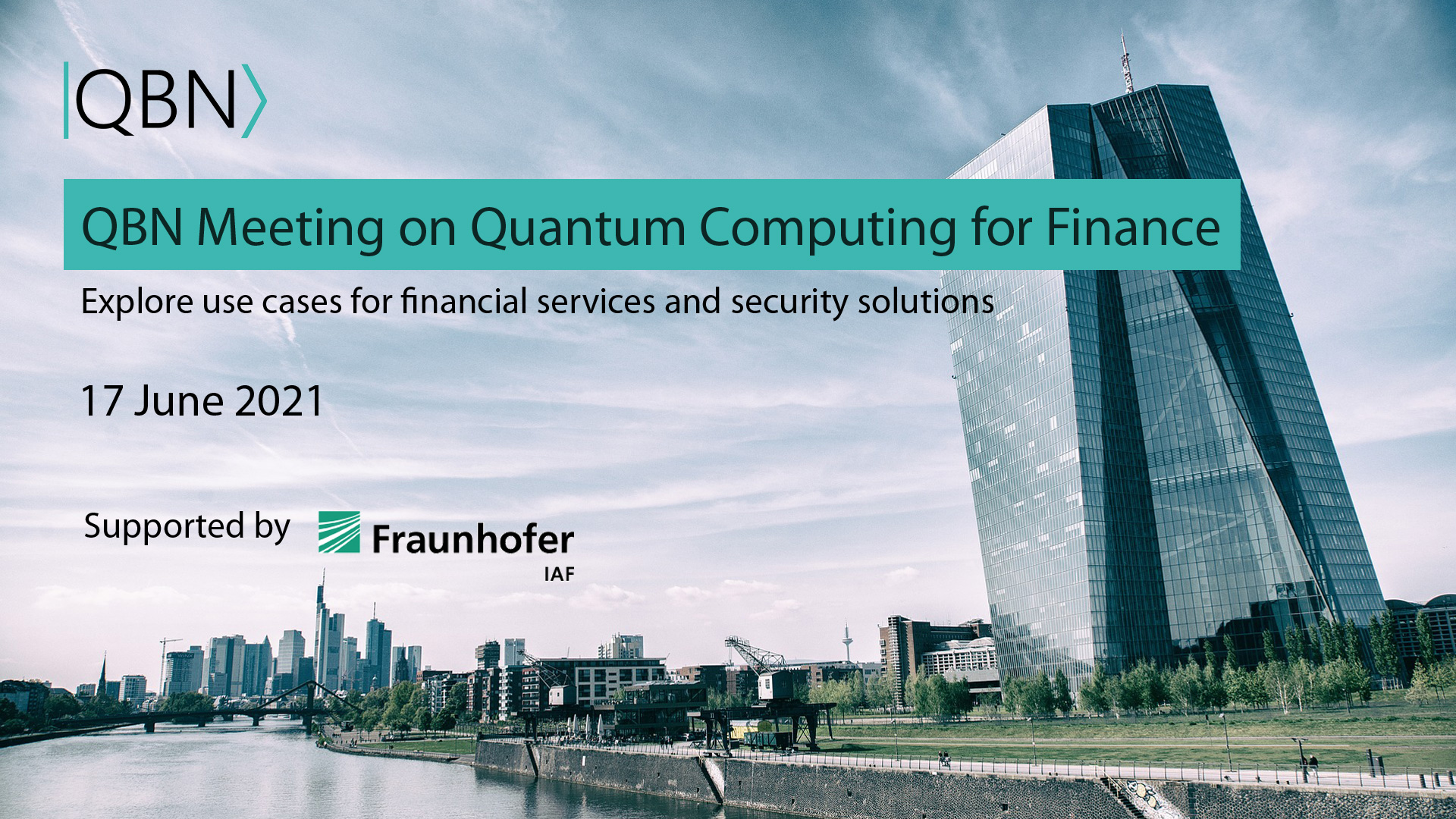 QBN Meeting on Quantum Computing for Finance