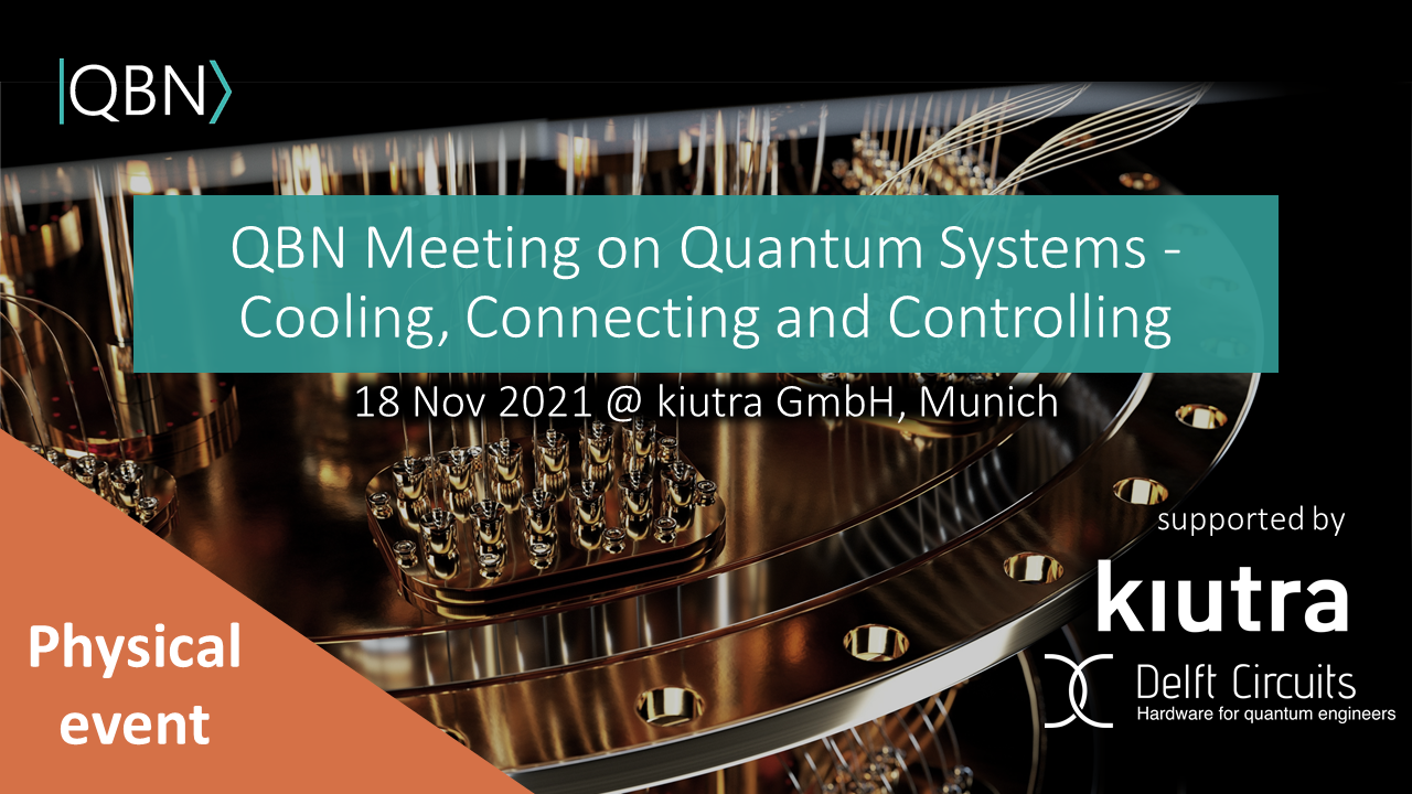 QBN Meeting on Quantum Systems - Cooling, Connecting & Controlling